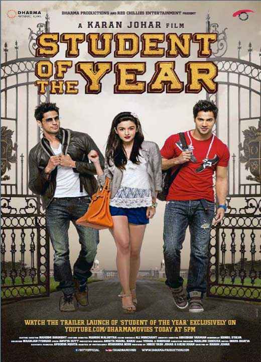 Student of the Year Photos Poster