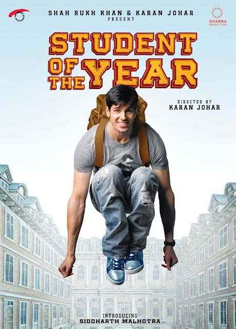 Student of the Year Siddharth Malhotra Poster