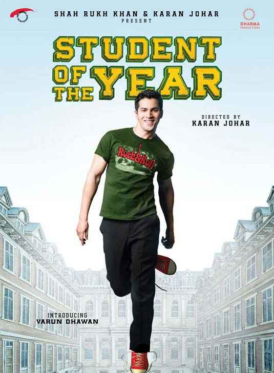 Student of the Year Varun Dhawan Poster