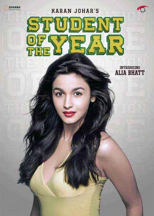 Student of the Year Star Cast Alia Bhatt