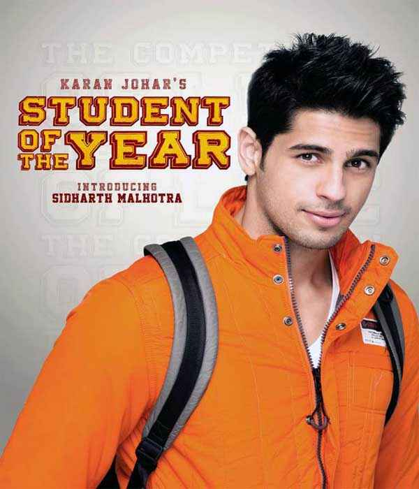 Student of the Year Star Cast Siddharth Malhotra