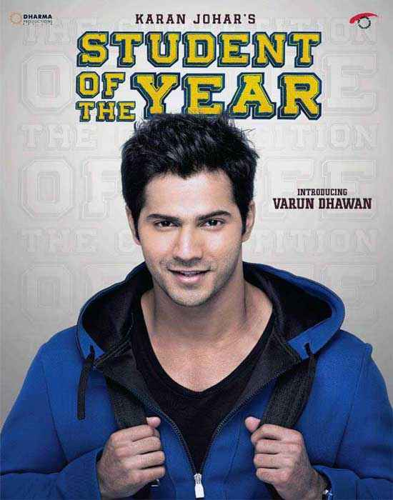 Student of the Year Star Cast Varun Dhawan