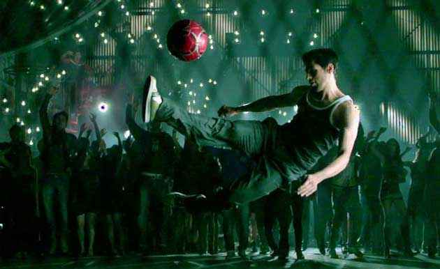 Student of the Year Siddharth Malhotra With Ball Stills