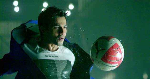 Student of the Year Varun Dhawan With Ball Stills