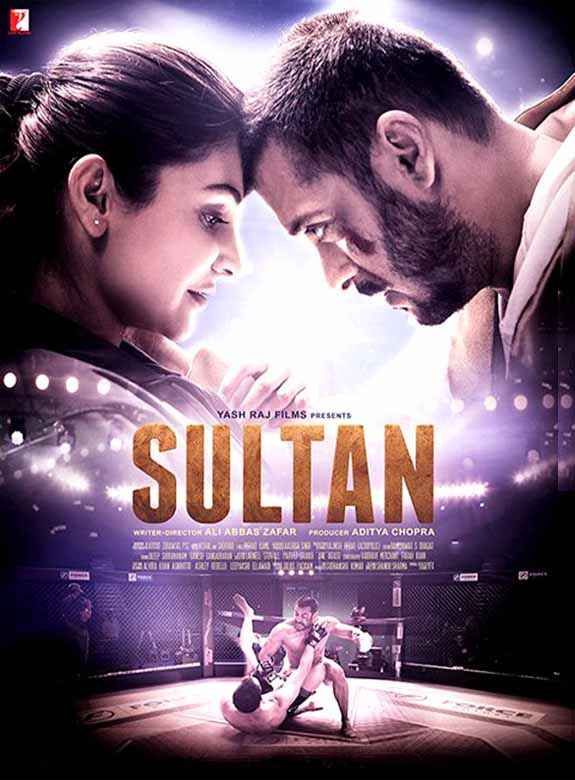 Sultan Anushka Sharma Salman Khan Poster