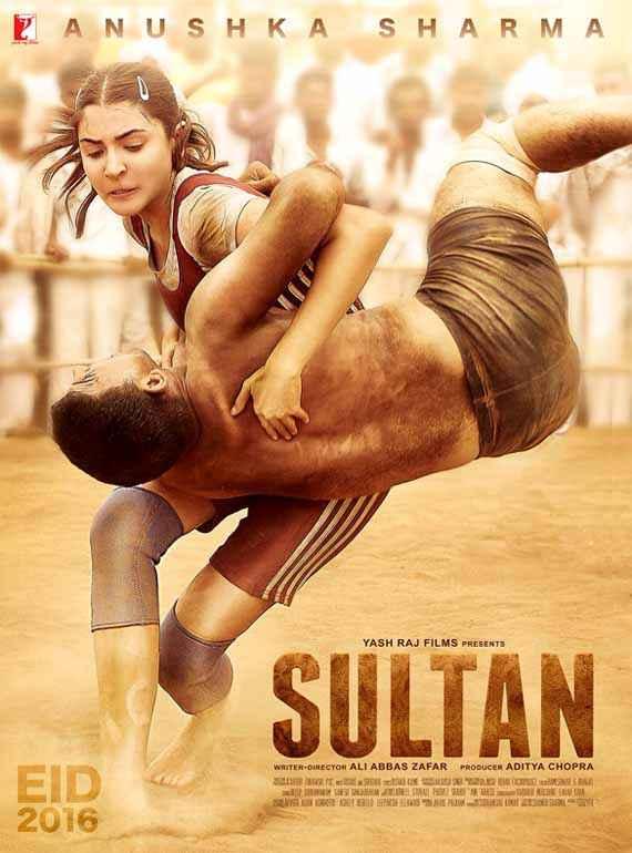 Sultan Anushka Sharma Poster