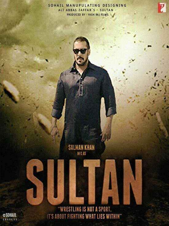 Sultan Salman Khan First Look Poster