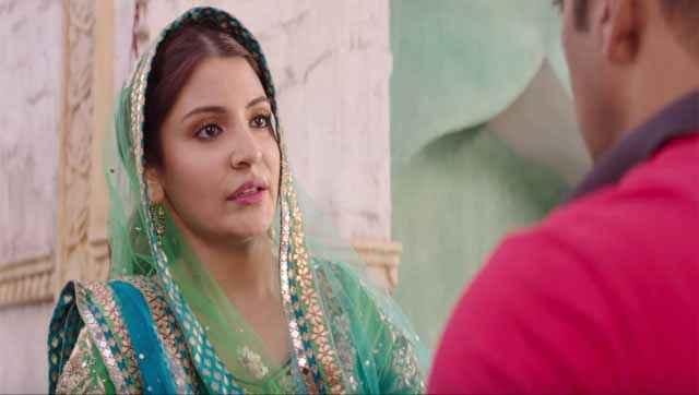 Sultan Anushka Sharma Face Stills