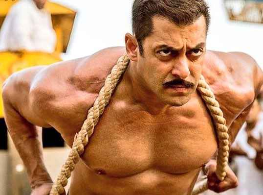 Sultan Salman Khan Exercise  Stills