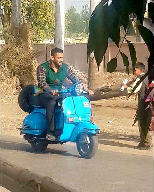 Sultan Salman Khan On Scooter Stills