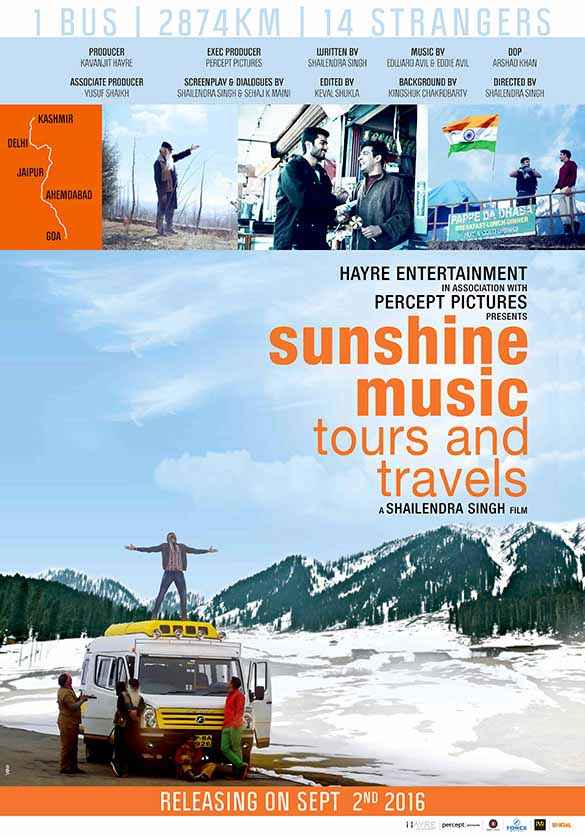 Sunshine Music Tours and Travels First Look Poster
