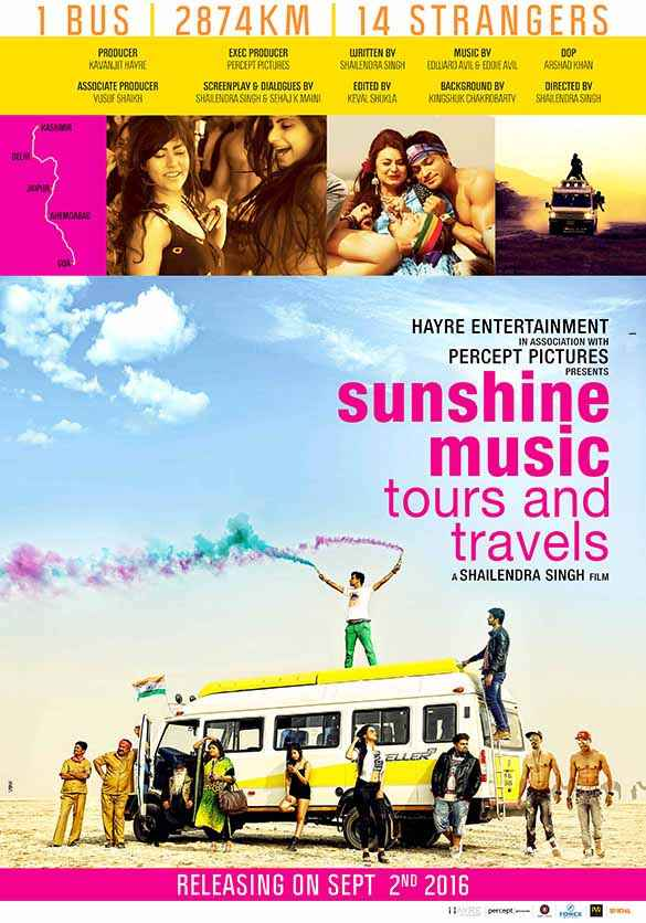 Sunshine Music Tours and Travels Wallpaper Poster