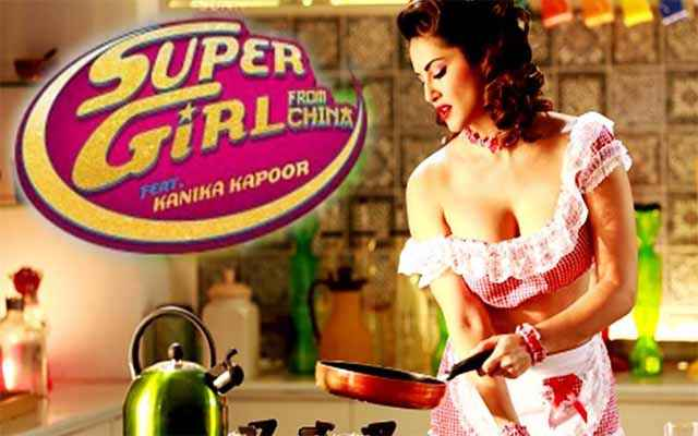 Super Girl From China Hot Sunny Leone Poster