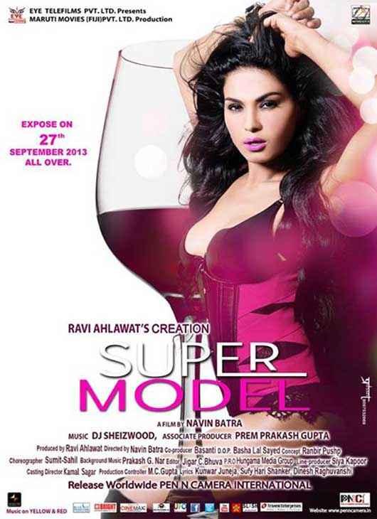 Super Model Hot Veena Malik Poster
