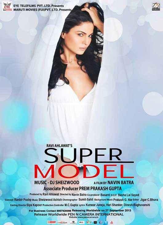 Super Model Veena Malik Poster