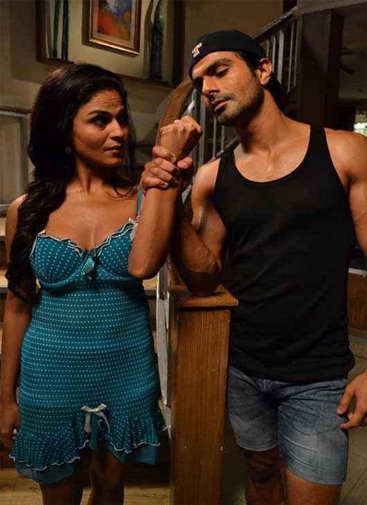 Super Model Ashmit Patel Veena Malik Stills
