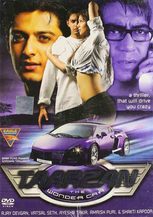 Taarzan - The Wonder Car  Poster
