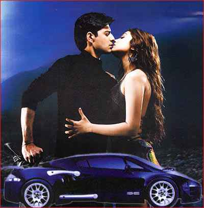 Taarzan - The Wonder Car Vatsal Seth Ayesha Takia Kiss Scene Stills