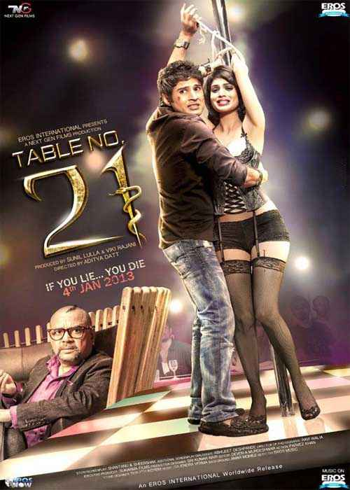 Table No. 21 Images Poster
