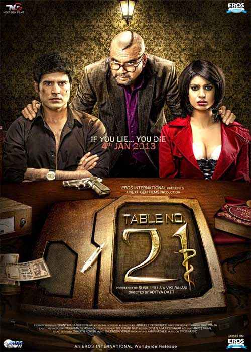 Table No. 21 Photos Poster