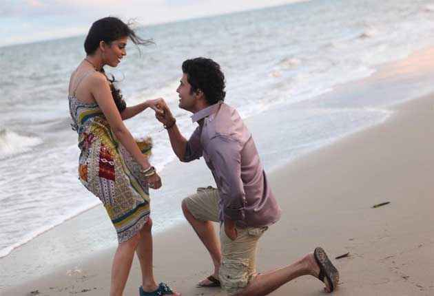 Table No. 21 Rajeev Tena Desae Propose On Beach Stills