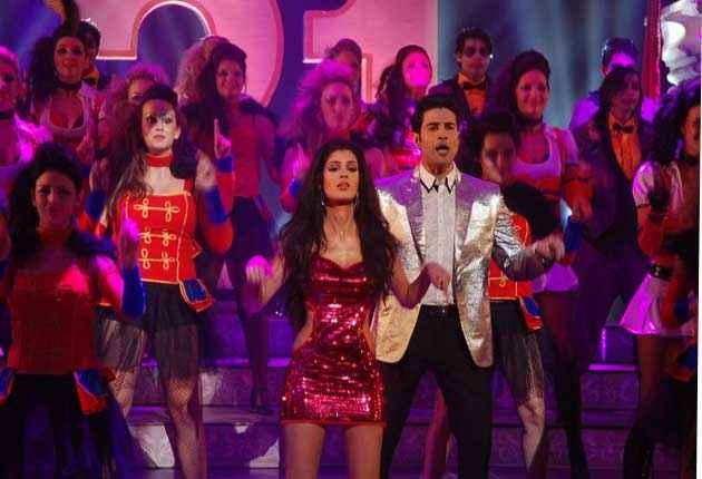Table No. 21 Tena Desae In Red Dress And Rajeev Khandelwal Dance Stills