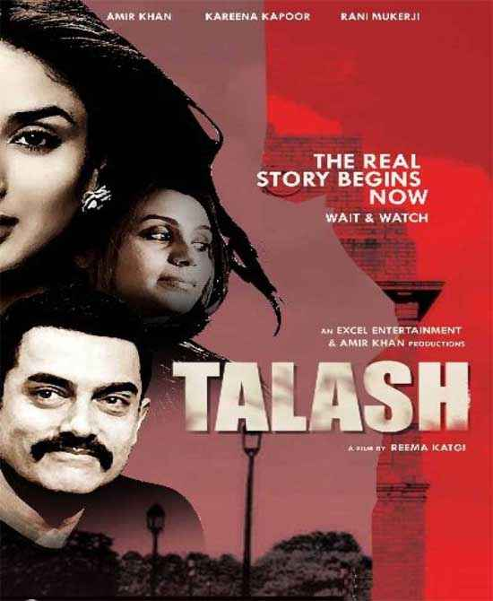Talaash 2012 Poster