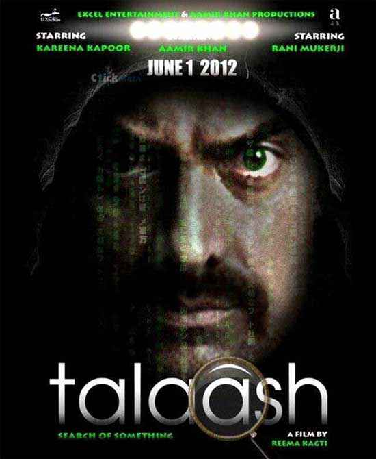 Talaash 2012 Aamir Khan Image Poster