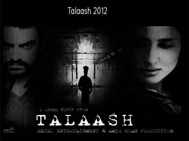 Talaash 2012 Aamir Khan Kareena Kapoor Poster