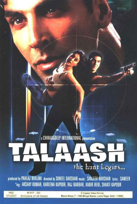Talaash (2003) The Hunt Begins Photos Poster