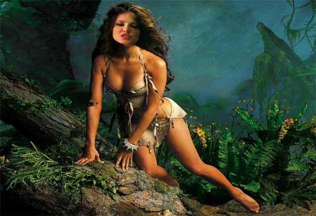 Tarzan Remake Sunny Leone Hot Pics Stills