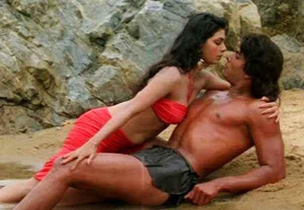 Tarzan Hemant Birje Kimi Katkar Hot Romantic Scene Stills