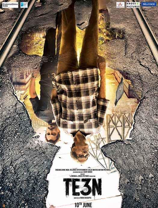 TE3N Amitabh Bachchan Nawazuddin Siddiqui Poster