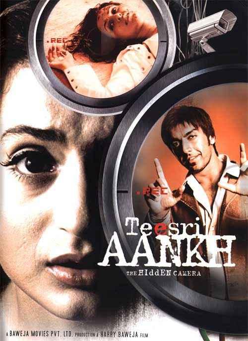 Teesri Aankh The Hidden Camera Amisha Patel Poster
