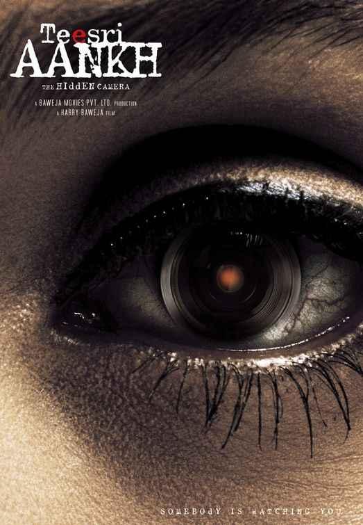 Teesri Aankh The Hidden Camera Eye Poster