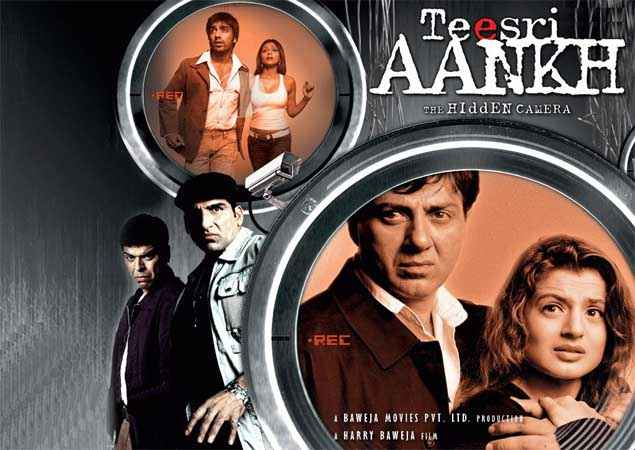 Teesri Aankh The Hidden Camera Image Poster
