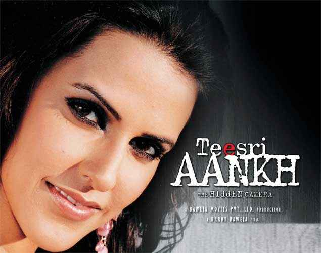 Teesri Aankh The Hidden Camera Neha Dhupia Poster