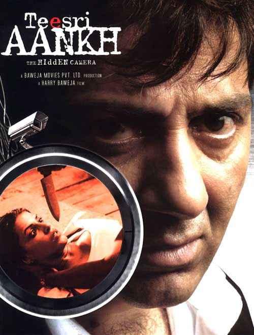 Teesri Aankh The Hidden Camera Sunny Deol Poster