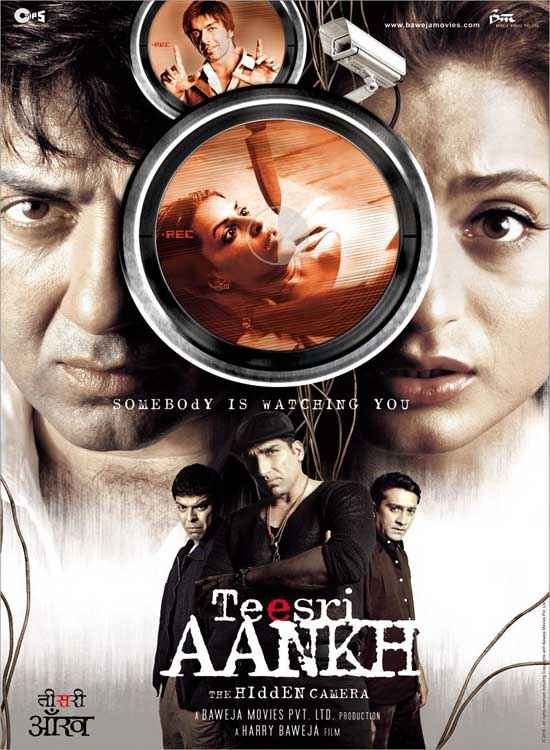 Teesri Aankh The Hidden Camera  Poster