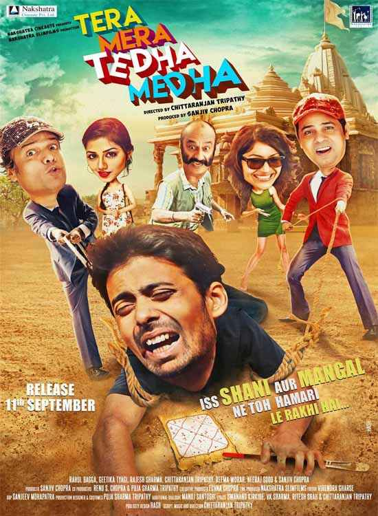 Tera Mera Tedha Medha Poster