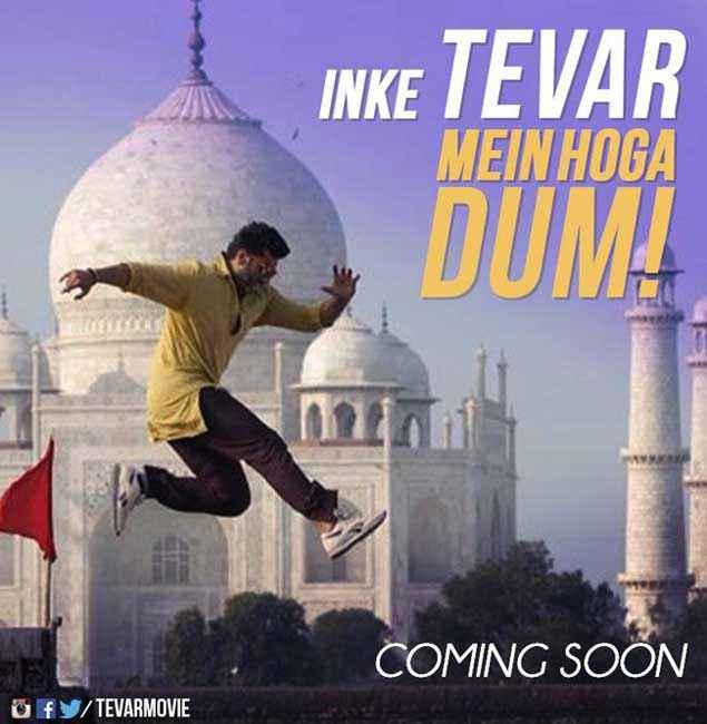 Tevar Arjun Kapoor Inke Tevar Mein Hoga Dum Stills