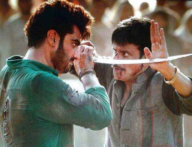 Tevar Arjun Kapoor Manoj Bajpayee Fighting Stills