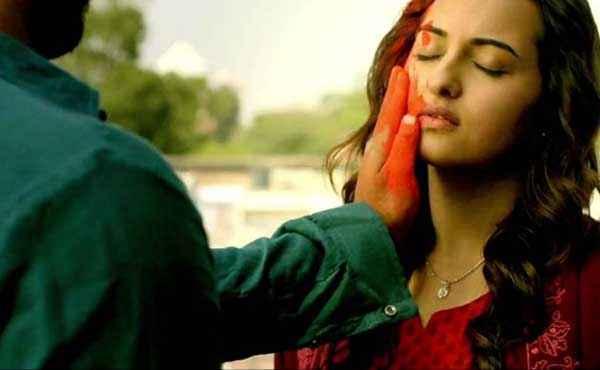 Tevar Arjun Kapoor Sonakshi Sinha Loving Scene Stills