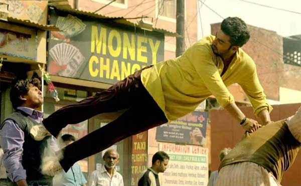 Tevar Arjun Kapoor Stunt Sction Stills