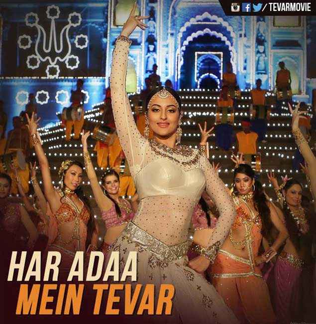 Tevar Sonakshi Sinha In Har Adaa Mein Tevar Stills