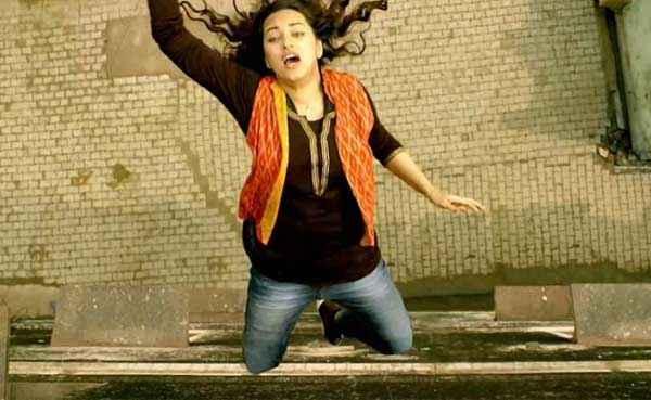 Tevar Sonakshi Sinha Stunt Stills