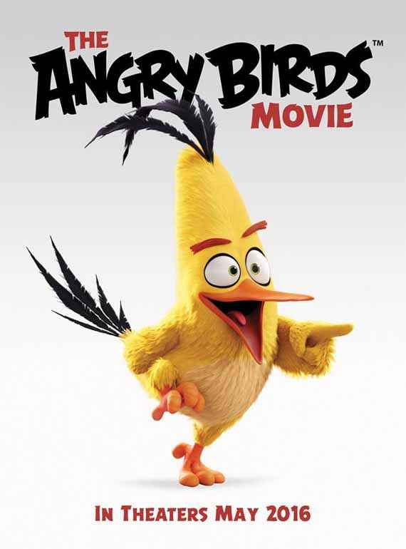 The Angry Birds Movie (English) Image Poster