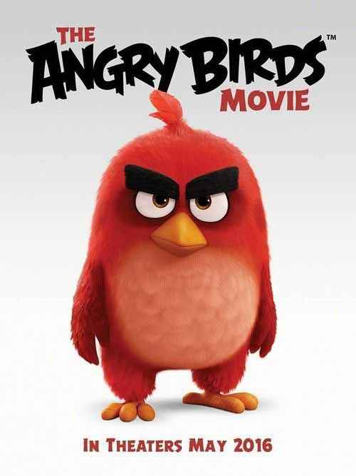 The Angry Birds Movie (English) Wallpaper Poster