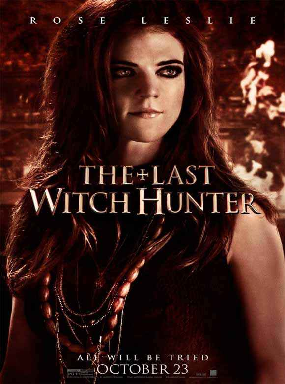 The Last Witch Hunter Rose Leslie Poster