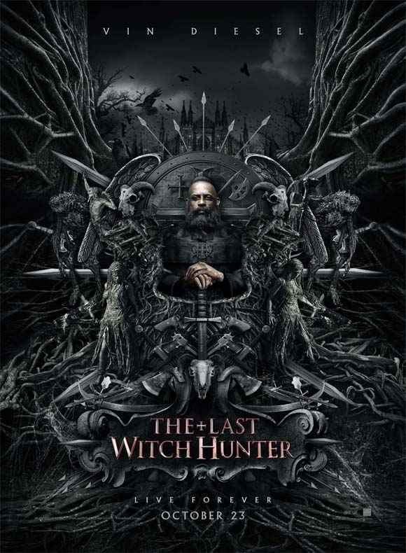 The Last Witch Hunter Vin Diesel HD Wallpaper Poster